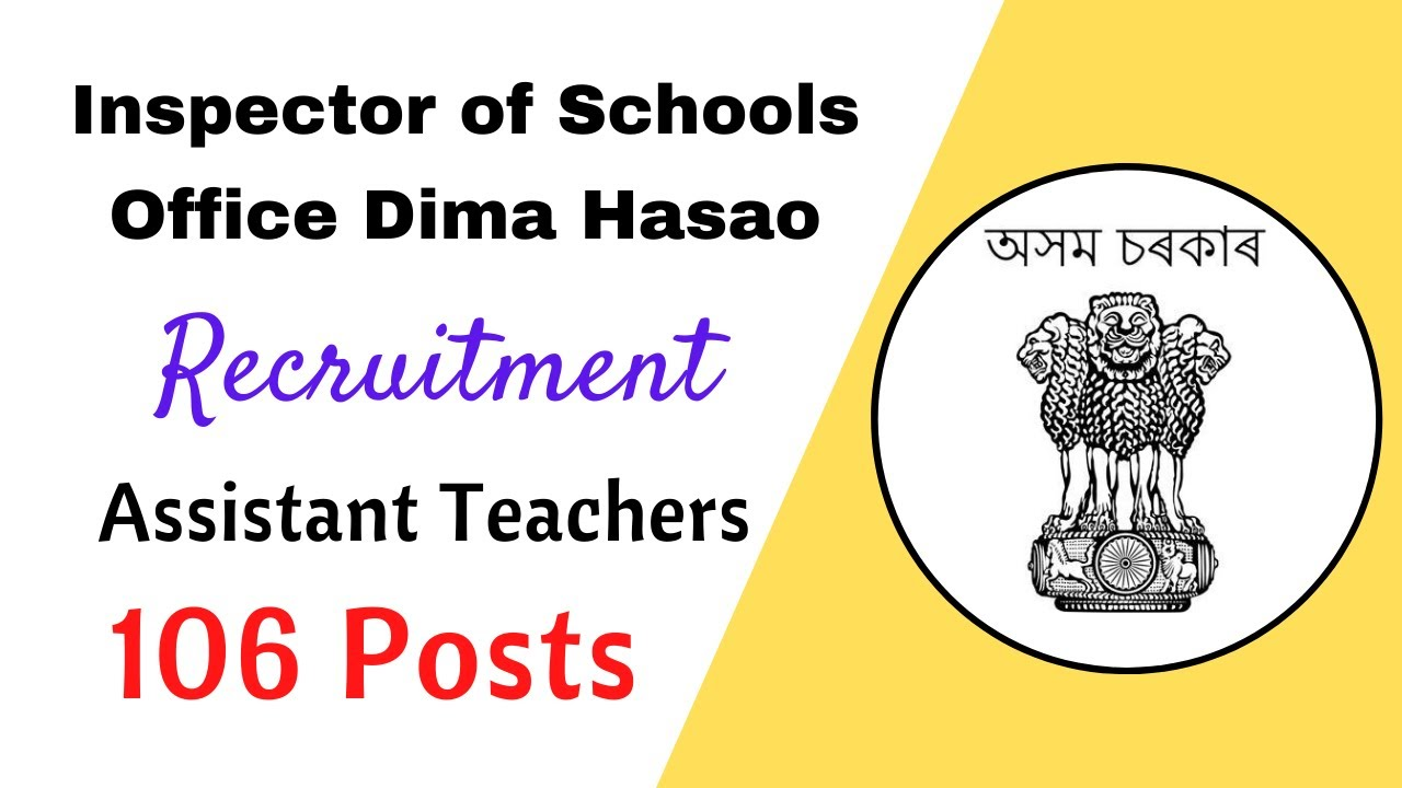 Dima hasao Assistant teacher recruitment