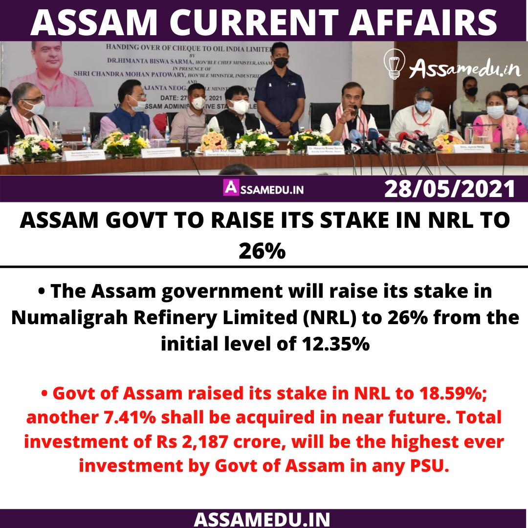 Assam Current affairs 2021